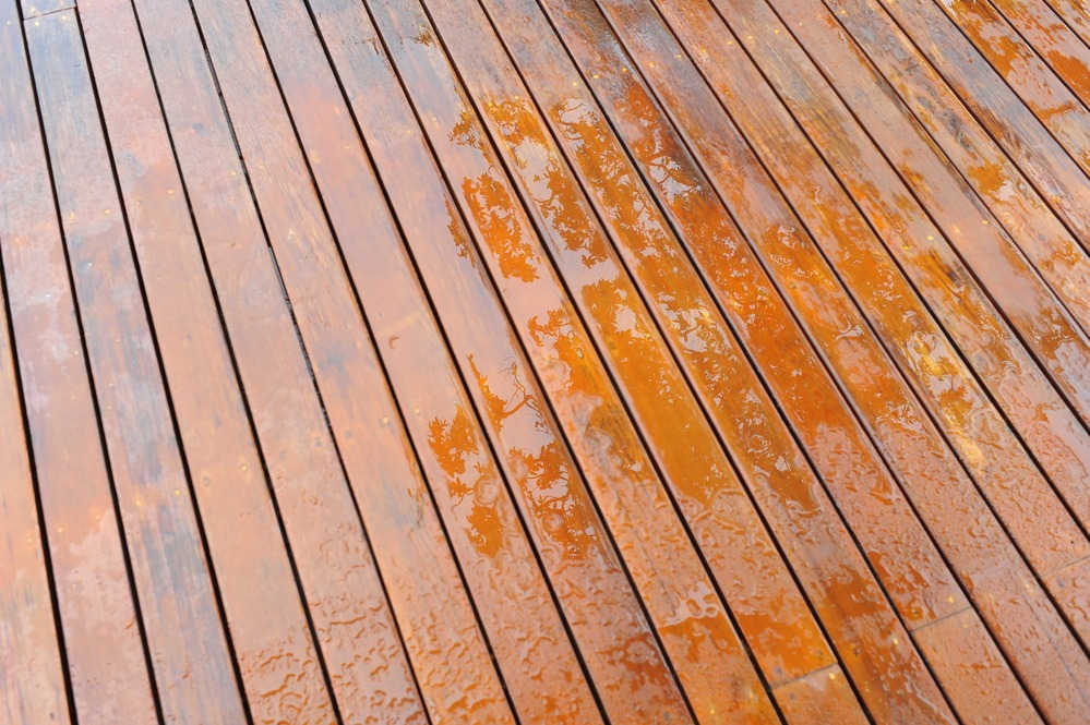 Deck Staining Quincy Painting Company